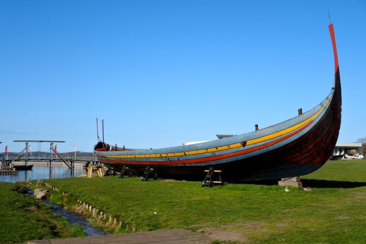 The Sea Stallion, Vikingeskibsmuseet, Roskilde Harbour,