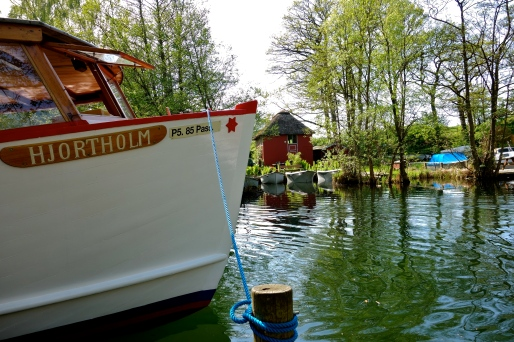 Passenger boat, Furesøen, Denmark