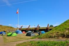 Kanoner og camping