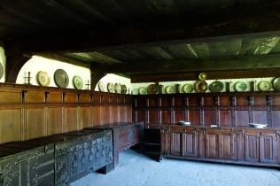 Ostenfeldgården, opbevaringsrum, med mulighed for modtagelse af gæster