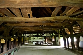Ostenfeldgården, et hallehus uden skorsten men med røghul