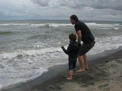 Far og søn