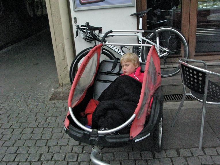 Man kommer ikke sovende til en Ironman :-)