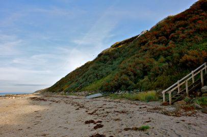 Stranden ved Sct. Helene Kilde