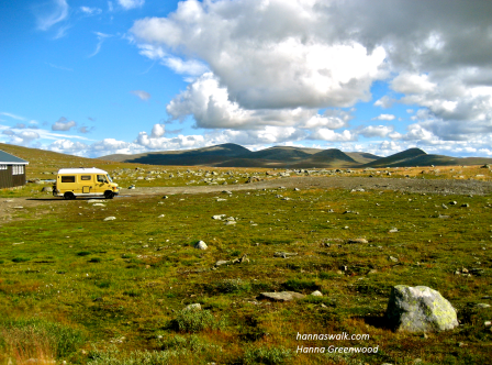 Valdresflya, fjeldovergang i Norge