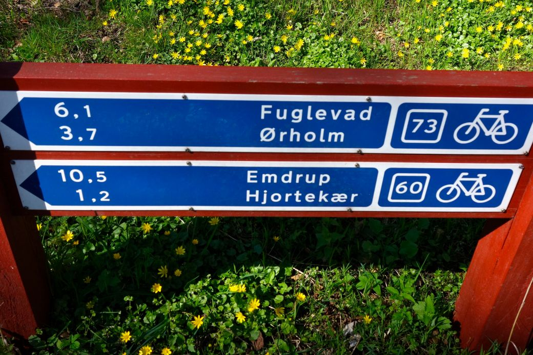 Beautiful road signs