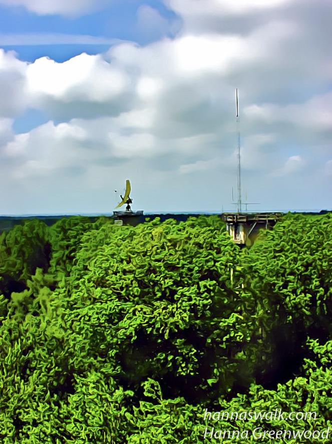 Lille radartårn på Multebjerg, Gribskov