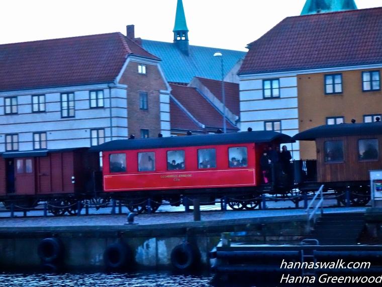 Vintage train, Helsingor