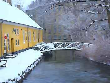 Ved Møllebo, Lyngby Hovedgade