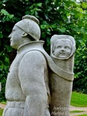 Sculptures in the Valley of the Norsemen
