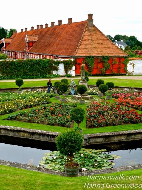 At Fredensborg Palace