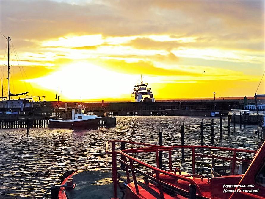 The Ferry returns to Rørvig