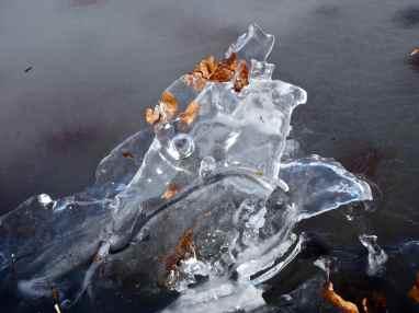 Frozen! Furesøen, Rudersdal, Denmark