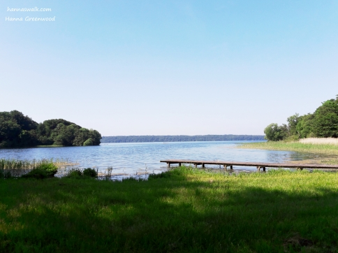 Furesøen ved Næsseslottet, tidlig formiddag Denmark
