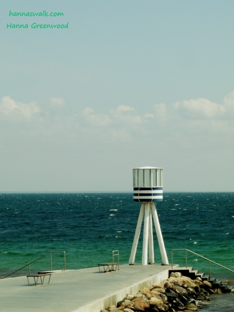 Bellevue, Arne Jacobsen - Lifeguard tower, Denmark