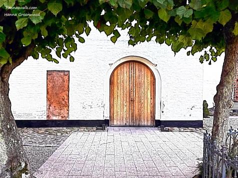 Hovedindgang til Søllerød Kirke